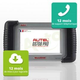 Mise à jour DS708 - Abonnement de 12 mois en français