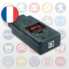 Logiciel Multimarque MaxiECU + Interface diagnostic MPM-COM