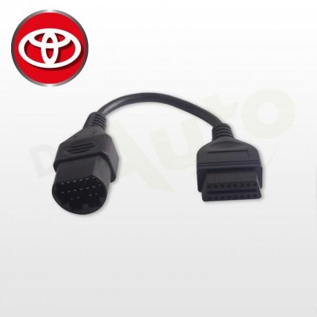 Adaptateur Toyota OBD 1 17 PIN vers OBD2