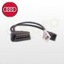 Adaptateur Audi OBD 2+2 PIN vers OBD2