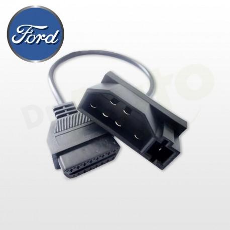 Adaptateur Ford OBD 1 6+1 PIN vers OBD2