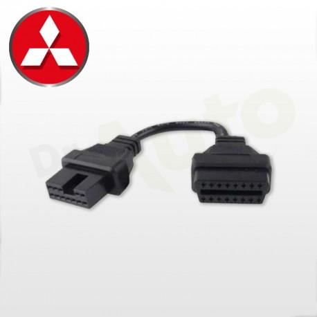Adaptateur Mitsubishi OBD 1 12 PIN vers OBD2