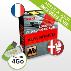 Pack Logiciel de diagnostic Alfa Romeo MaxiECU + Interface MPM-COM
