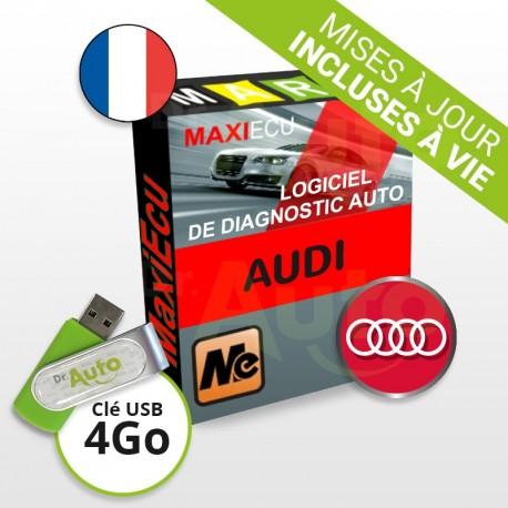 PACK interface MPM-COM + logiciel MaxiECU - Audi