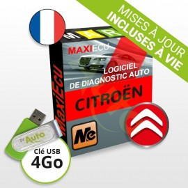 Pack Logiciel de diagnostic Citroën MaxiECU + Interface MPM-COM