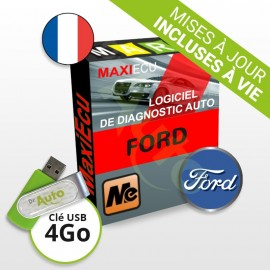 Pack Logiciel de diagnostic Ford MaxiECU + Interface MPM-COM