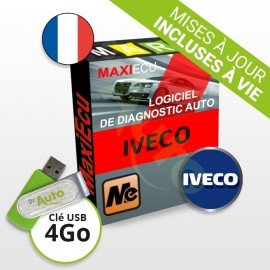 Pack Logiciel de diagnostic Iveco MaxiECU + Interface MPM-COM