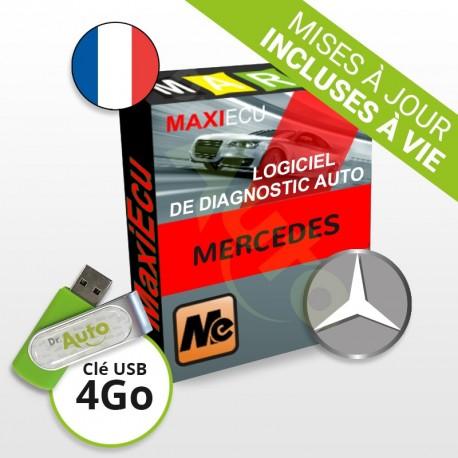 PACK interface MPM-COM + logiciel MaxiECU - Mercedes