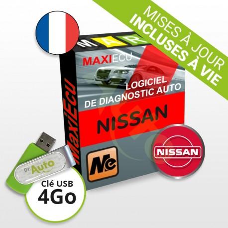 PACK interface MPM-COM + logiciel MaxiECU - Nissan
