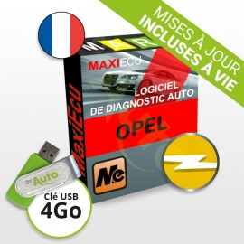 Pack Logiciel de diagnostic Opel MaxiECU + Interface MPM-COM
