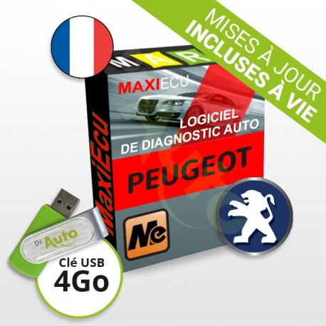PACK interface MPM-COM + logiciel MaxiECU - Peugeot