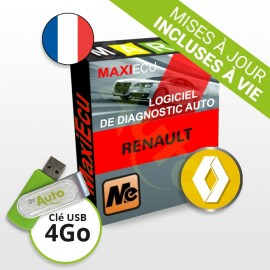 Pack Logiciel de diagnostic Renault MaxiECU + Interface MPM-COM
