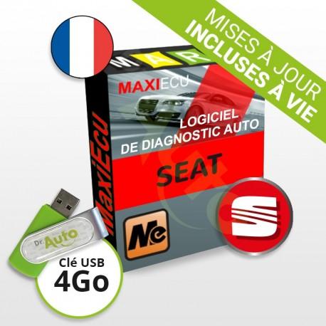 PACK interface MPM-COM + logiciel MaxiECU - Seat