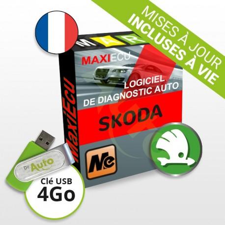 PACK interface MPM-COM + logiciel MaxiECU - Skoda