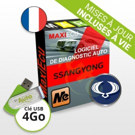 Logiciel de diagnostic Ssangyong MaxiECU + Interface MPM-COM