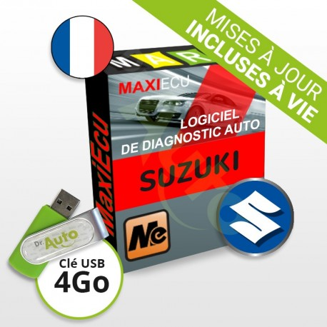 Logiciel de diagnostic Suzuki MaxiECU + Interface MPM-COM