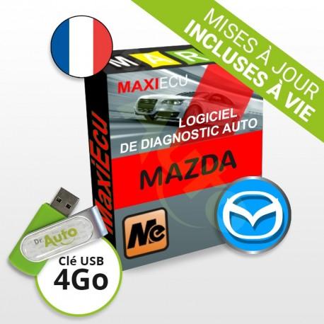 Logiciel de diagnostic Mazda MaxiECU + Interface MPM-COM