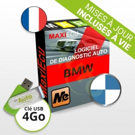 Logiciel de diagnostic BMW MaxiECU + Interface MPM-COM
