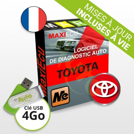 Pack Logiciel de Diagnostic Toyota MaxiECU + Interface MPM-COM