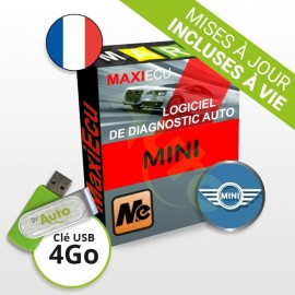 Pack Logiciel de Diagnostic Mini MaxiECU + Interface MPM-COM