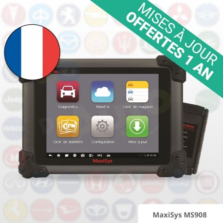 Autel MaxiSys MS908 - Version française officielle®