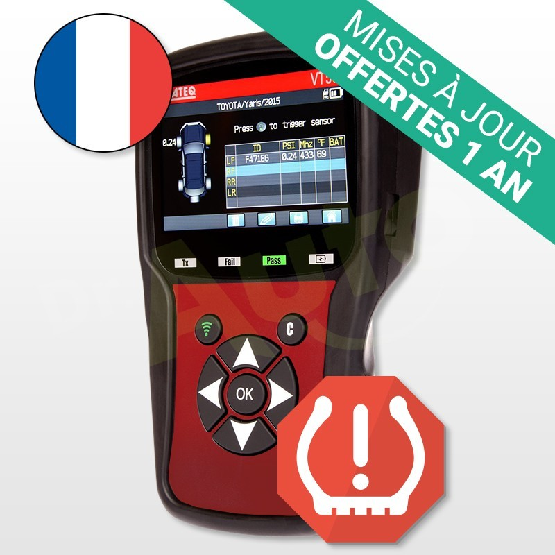 forceur de valve tpms ateq vt56 excitateur avec connecteur obd 2. Black Bedroom Furniture Sets. Home Design Ideas