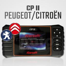 Scanner iCarsoft CP-II multi-système + vidange pour Peugeot et Citroën