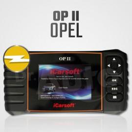 Scanner iCarsoft OP-II Opel Multi-système + Reset vidange