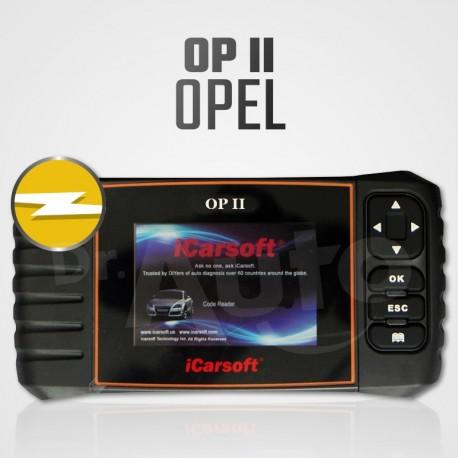 Scanner iCarsoft OP-II multi-système + vidange pour Opel