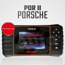 Scanner Porsche iCarsoft POR-II Multi-système + Reset vidange