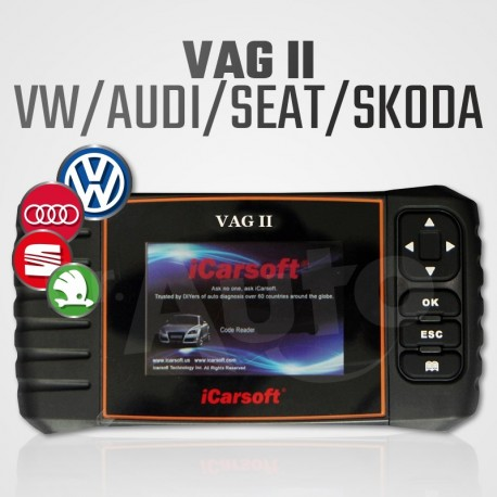 scanner diagnostic volkswagen icarsoft vag ii pour vag reset vidange. Black Bedroom Furniture Sets. Home Design Ideas