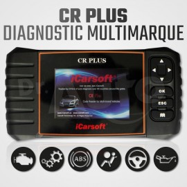 Scanner iCarsoft CR-Plus diagnostic multi-système multimarque
