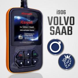 Outil diagnostic Volvo et Saab multi-système - iCarsoft i906