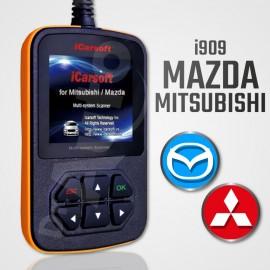 Outil diagnostic Mazda et Mitsubishi multi-système - iCarsoft i909