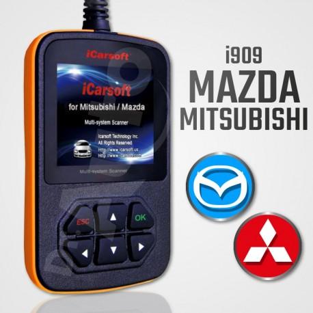 Scanner iCarsoft i909 multi-système pour Mazda et Mitsubishi