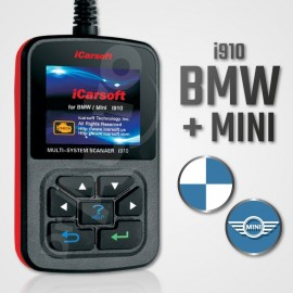 Scanner iCarsoft i910 multi-système pour BMW/Mini