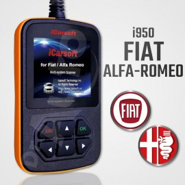 Outil diagnostic Alfa Romeo et Fiat multi-système - iCarsoft i950