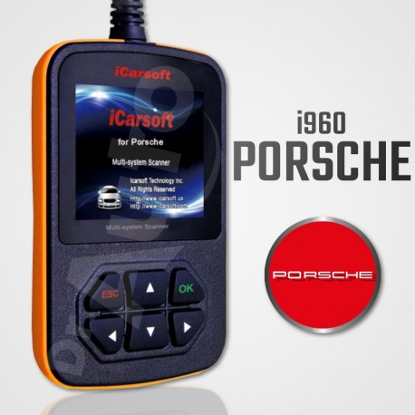 Scanner iCarsoft i960 multi-système pour Porsche