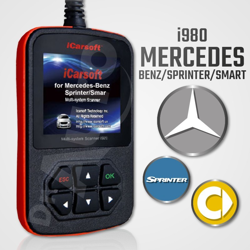 Outil diagnostic mercedes icarsoft i980 multi syst me en for Mercedes benz service b coupons