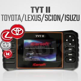 Scanner Toyota, Lexus, Scion et Isuzu - iCarsoft TYT-II multi-système + Reset vidange