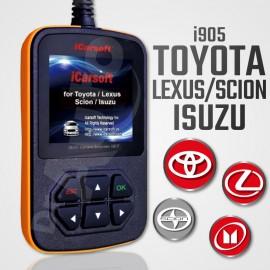 Outil diagnostic Toyota, Scion, Lexus et Isuzu multi-système - iCarsoft i905