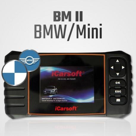 Scanner iCarsoft BM-II multi-système + vidange pour BMW et Mini