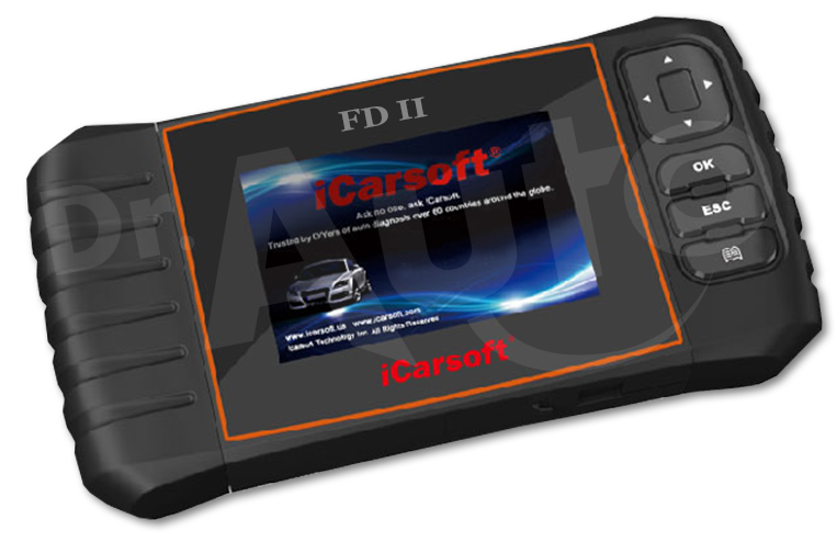 iCarsoft FD II pour Ford et Holden