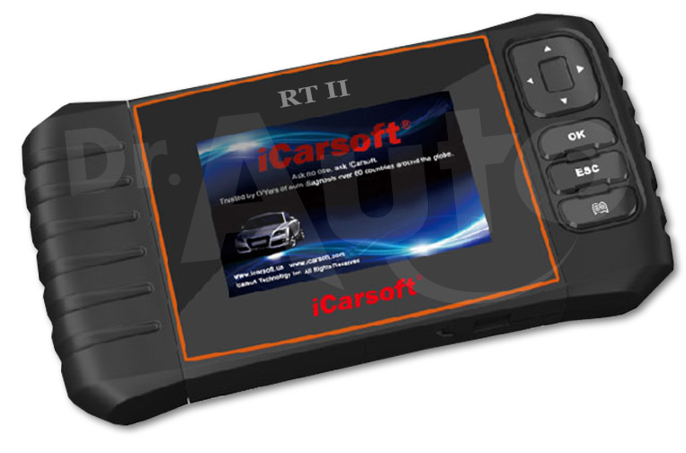 iCarsoft RT II pour Renault et Dacia