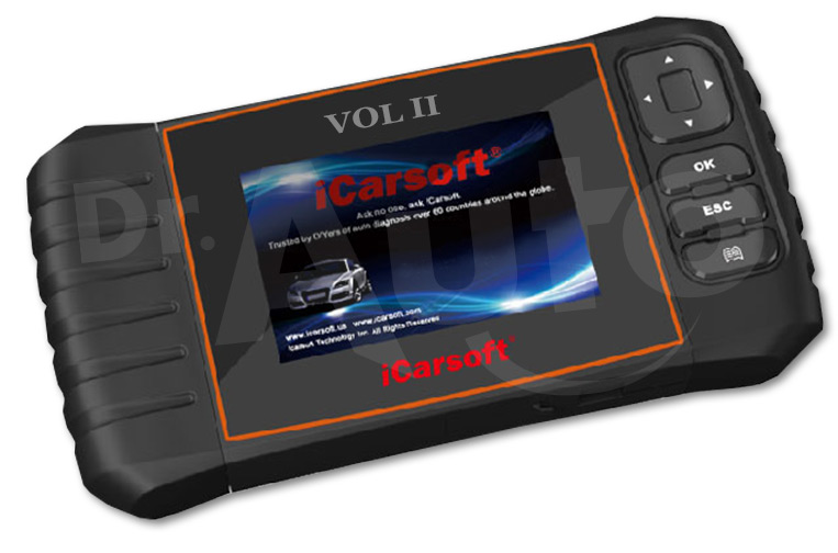 iCarsoft VOL II pour Volvo et Saab