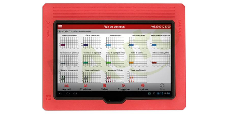launch x431 pro 3 valise de diagnostic multimarque. Black Bedroom Furniture Sets. Home Design Ideas